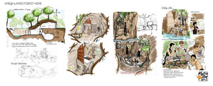 Raeyr and Rao's Forest Home by MondoArt