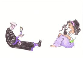 Play With Me ~ Frollo and Esmeralda ~ by kahlankhaleesi