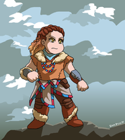 Aloy the Seeker by ErinPtah