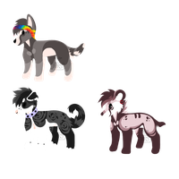 .:Random dog adopts:. 2/3 OPEN Flat price by Thvrsday