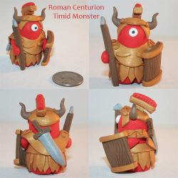 Roman Centurion Timid Monster by TimidMonsters