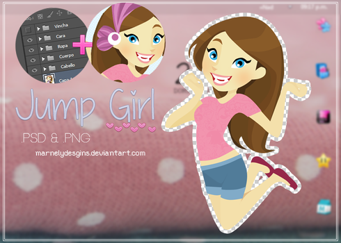 JumpGirl! Doll by MarNelyDesigns