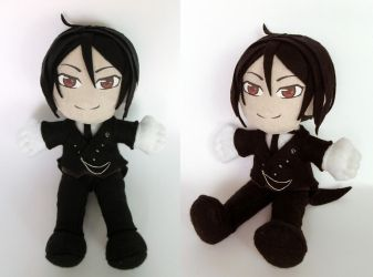 Sebastian Plushie by Jequila