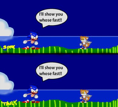 Sonic 2 vs mode 16BITS by Shadowtails-Derol