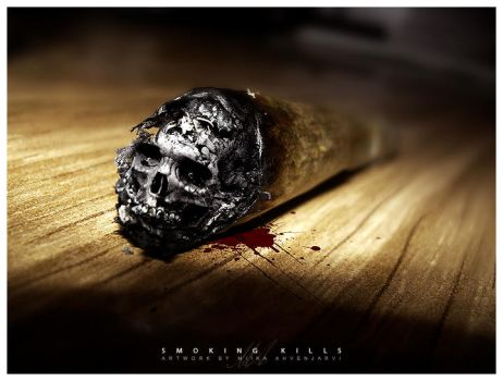 Smoking kills. by Uribaani