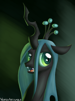 Queen Chrysalis by Rhyrs