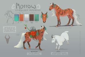 Morrow Reference Sheet by Yewrezz