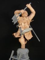 Gimli Raw Rearview by TKMillerSculpt