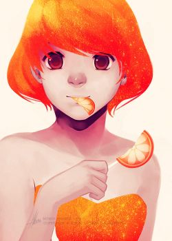Orange by mibou