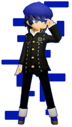 Detective Prince [Persona Q MMD DL] by PhantomPhan14