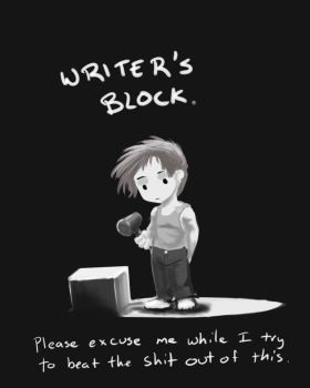 Writer's block by AphexAngel