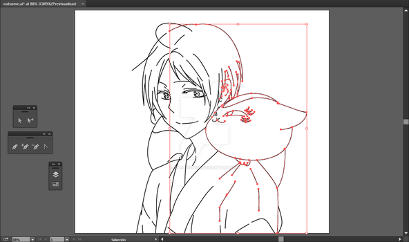 Lineal art - Natsume Part 02 by juliojosesr