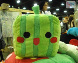 Square Watermelon Plushie by LiLMoon
