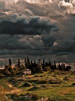 House on the hill by JBord