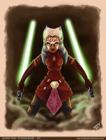 Ahsoka Tano Fan Art by EdBourg