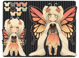 Butterfly collab auction [CLOSED] by WanNyan