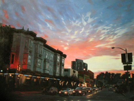 Clouds over Beach Street by Ausila