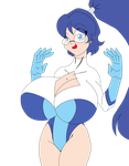 Silicia's experiment : the breasts by Animewave-Neo