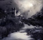 Winter Castle Stock by wyldraven