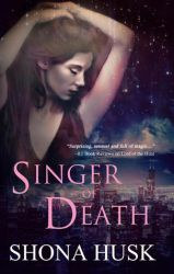 Book cover - Singer of Death by Shona Husk by CathleenTarawhiti