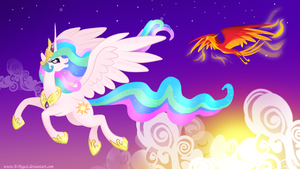 the princess and the phoenix by B-Pegasi