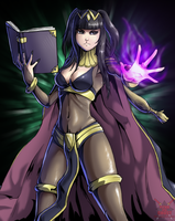 Commission: Tharja by Pltnm06Ghost