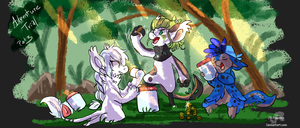 Adventure Trial - Part 3 by JB-Pawstep