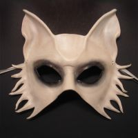 Ghost Dog Leather Mask by teonova