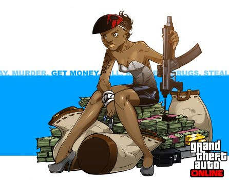 Morgan - Grand Theft Auto: Online by SanctuarySchool