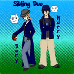 Sibling Duo - Rory and Harry by Aisuryuu