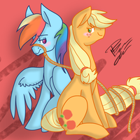 AppleDash - For Ishkie by ThunderShock0823