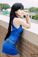 Tifa Lockhart - Wallmarket Dress by CrystalMoonlight1