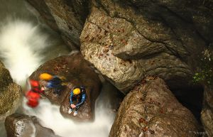 Canyoning by mefotografie