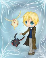 T:RC- Chibi Fai by Checker-Bee