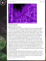 Homestuck Prospit or Derse Quiz result by Leonah728