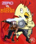 Zero vs. Lord BADASS CHICKEN! by Predaguy