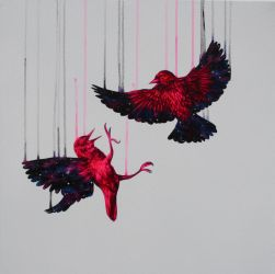 Starlings by LouiseMcNaught