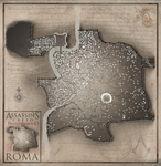 Map of Roma (Assassin's Creed: Brotherhood) by Hynotama