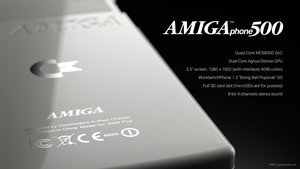 Commodore Amiga phone - specifications by zgodzinski