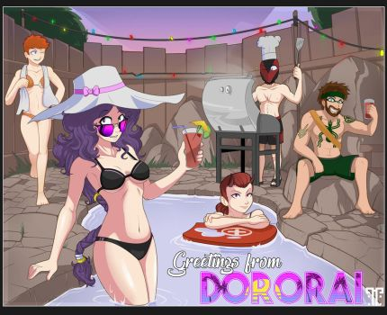 DU - Pool Party by tortox
