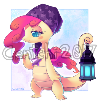 Sleepy Dragon Adoptable: CLOSED by Centchi