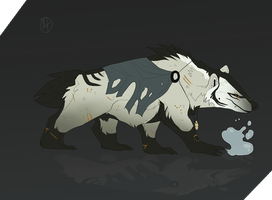Badger Water Elemental Custom by Lordfell