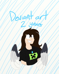 Deviant for 2 years! by sarahsuz