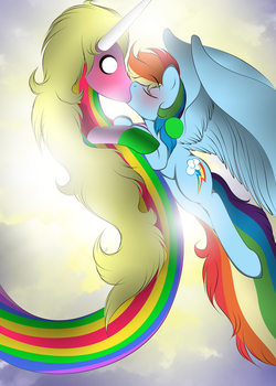 Kiss of Rainbows by V-D-K
