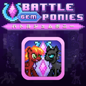 Battle Gem Ponies Box Art by YotesGames