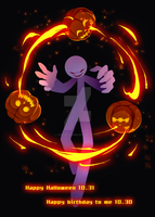 Jack-o'-lantern by Ghost-pumpkin