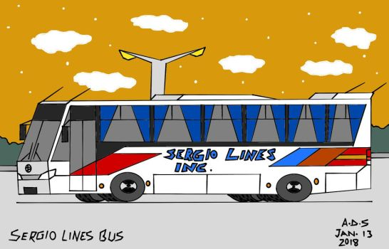 Sergio Lines Bus by adrian154