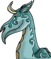 Dragonhead auction (Open!) by Femaledragonknight