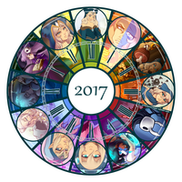 2017 Art Summary by WishingStarInAJar