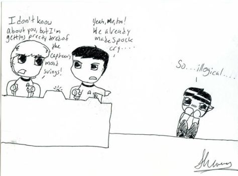 Poor Spock.... by s-tiger-sc